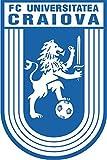 Universitatea Craiova FC Romania Soccer Football Alta Calidad De Coche De Parachoques Etiqueta Engomada 8 x 12 cm