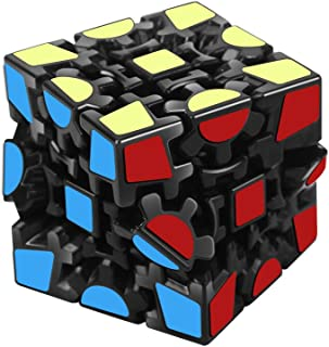 Magic Combination 3D Puzzle Gear Cube, 3x3 Match-specific Speed Rubiks Gear Cube Stickerless Twisty Puzzle