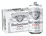 [Pack of 12] Budweiser Full Flavored Zero Alcohol Brew, 0.00% ALC, NA Non-Alcoholic Beer, 50 Cal, Zero Sugar, Cans - 12 Fl Oz