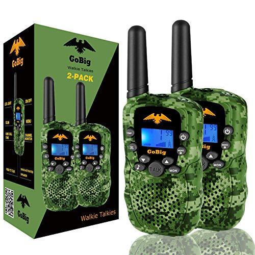 Broan-Nutone 6201 GoBig Voice Activated Adults and Kids 3 Mile Range 2 Way Radio Walkie Talkies...