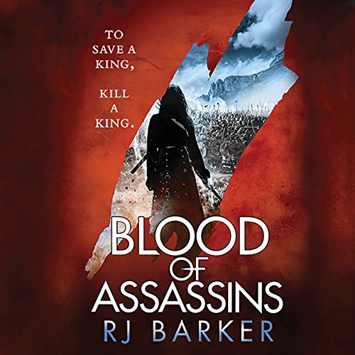 Blood of Assassins audiobook cover art