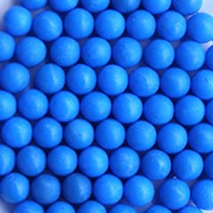 soft rubber reusable paintballs. Perfect sized .68 No Oil or Lubrication Needed! reball style.