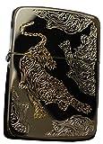 Zippo Lighter Genuine Design 1941 Replica Tiger Black