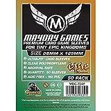 50 Mayday 88 x 125 Tiny Epic Kingdoms Premium Card Sleeves Board Game