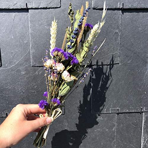 Droogbloem boeket small   Blauw tinten   Droogbloemen   Gedroogde bloemen   BloomitUp