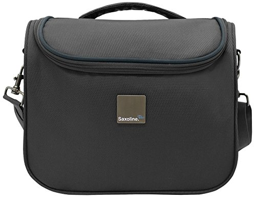 Saxoline Blue Alpine Beautycase Black, Dobby