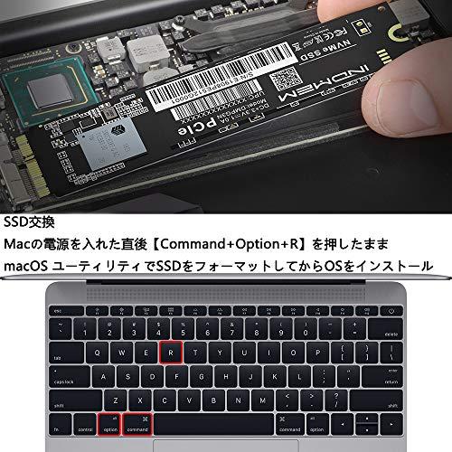 『INDMEM 256GB NVMe PCIe内蔵SSD Mac専用SSD アップグレードキット 専用ドライバー付き 対応モデル MacBook Pro Retina Late 2013-Mid 2015 MacBook Air Mid 2013-2017 iMac Late 2013-2017 Mac Pro Late 2013 Mac Mini Late 2014』の4枚目の画像