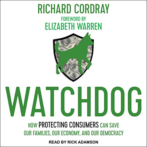 Watchdog Audiobook By Richard Cordray, Elizabeth Warren - foreword cover art