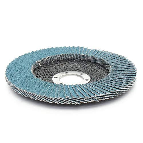Great Deal! Multitool Sanding Kits 10pcs 125mm 40-120 Grit Metal Sanding Flap Discs Angle Grinder Wh...