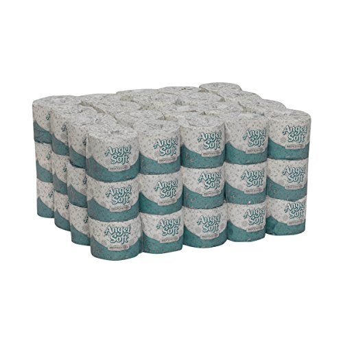 Angel Soft Professional Series Premium 2-Ply Embossed Toilet Paper by GP PRO (Georgia-Pacific), 16850, 450 Sheets Per Roll, 60 Rolls Per Case