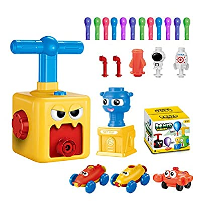 Balloon Launcher Car Toy Set,for Kids Classroom...