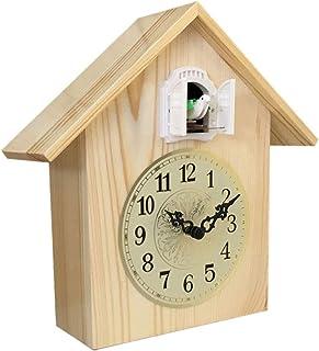 Table Clock غرفة المعيشة الوقواق ساعة كتم ساعة الذكية الخشب الصلبة كتم الحد الأدنى الحديثة البندول ساعة الأطفال ساعة ذكية ...