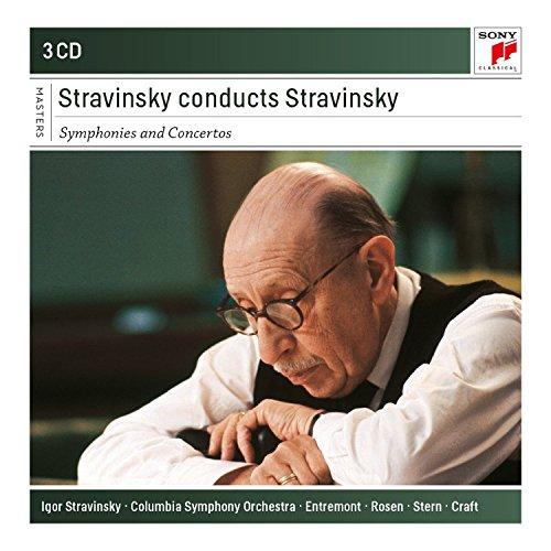 Stravinsky Conducts Stravinsky-Symphonies+Concerto