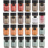 NOMU 24-Piece Starter Variety Set of Spices, Herbs, Chilis, Salts and Seasoning Blends Kit   24.1 Oz   Non-irradiated, No MSG or Preservatives