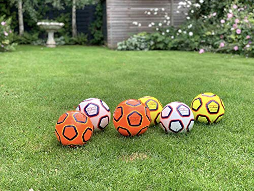 Lionstrike Size 4 Lite Football, yellow - Lightweight Training Football for Boys and Girls age 7 to 13 years old