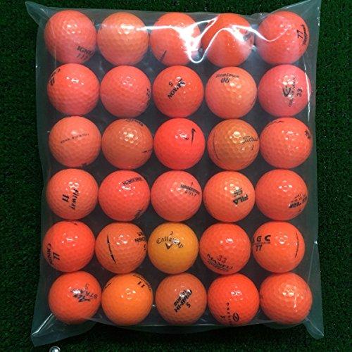 ロストボール Lost Ball ボール ブランド混合 ボール 30個セット 30個入り オレンジ