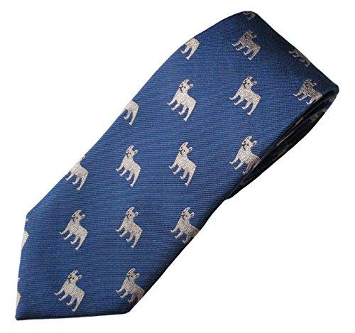 French Bulldog Tie (Men's Dog Breed Neck Tie)