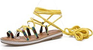 BalaMasa Womens ASL06898 Pu Flats Sandals