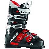 Lange RX 100 LV - Botas de esquí de hombre, color Negro/Rojo, talla 25.5