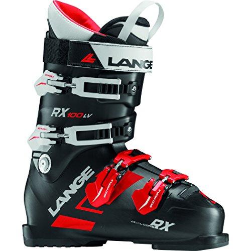 Lange - Chaussures De Ski Rx 100 L.v. (black-red) Homme - Homme - Taille 26.5 - Noir