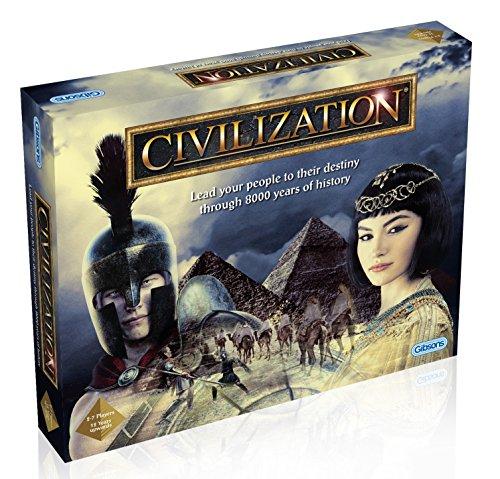 Gibsons G984 civilization - Bestimme die Geschicke deines Volkes durch 8000 Jahre Geschichte