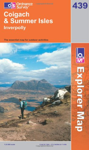OS Explorer map 439 : Coigach & Summer Isles