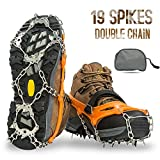 Aoriente Crampons, Ice Fishing, Ice Cleats for Men Women Ice Snow Grips Shoe Cleats...