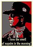 Poster Apocalypse Now Propaganda Quotes Kilgore - A3 (42x30