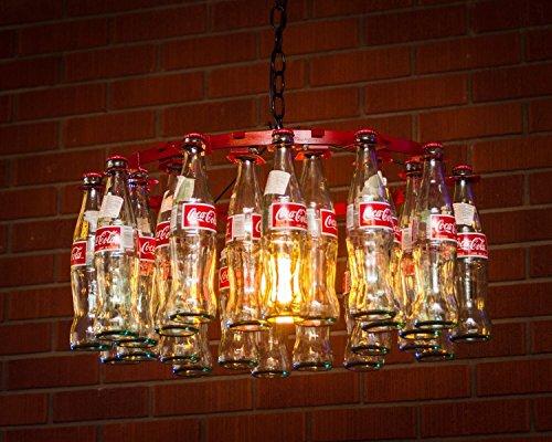 Coke Bottle Chandelier Pendent Style