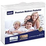ZAMAT Premium 100% Waterproof Mattress Protector, Breathable &...