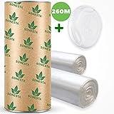 ECO Recharge de poubelle à couches Compatible avec Sangenic TEC Simplee Twist & Click, Angelcare | Litière Litter Locker II, Anti-Odeur + Tube en carton Easy-Refill + Deo oxygen | 200m + 60m Gratuit