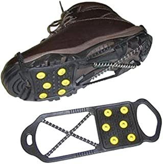 Sports Imports LLC Dual Traction Snow & Ice Shoe Ant-Slip Grabbers Fits US 11-14 EU 45-48 Shoes