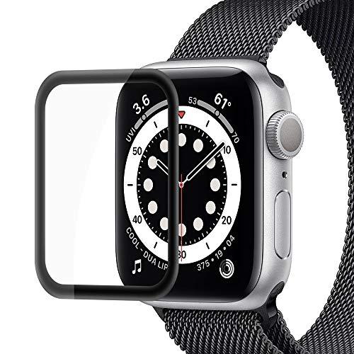 Semriver Panzerglas Schutzfolie kompatibel für iWatch 42mm Series 3/2/1 - (2 Stück) Bildschirmschutzfolie 3D Full Cover Panzerglasfolie 9H HD Klar Sport, Edition, Nike+ für Apple Watch 42mm