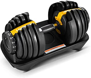 Time Roaming ScelleBridal Unisex Adjustable Dumbbells Workout Strength Training Fitness Weight Gym Single