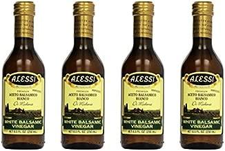 Alessi - White Balsamic Vinegar, 8.5 oz Pack of 4