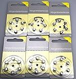 Hörgerätebatterien Größe 10er 36 Stück