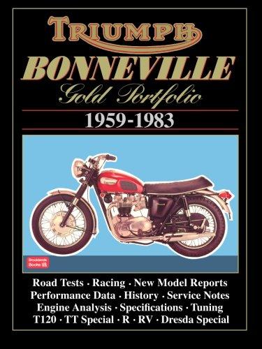 Triumph Bonneville Gold Portfolio 1959-1983 (Road Test Motorcycle)