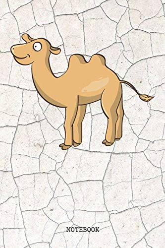 Notebook: Funny Cartoon Desert Camel Planner / Organizer / Lined Notebook (6