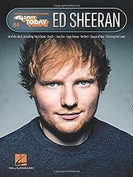 Ed Sheeran: For Organs, Pianos & Electronic Keyboards