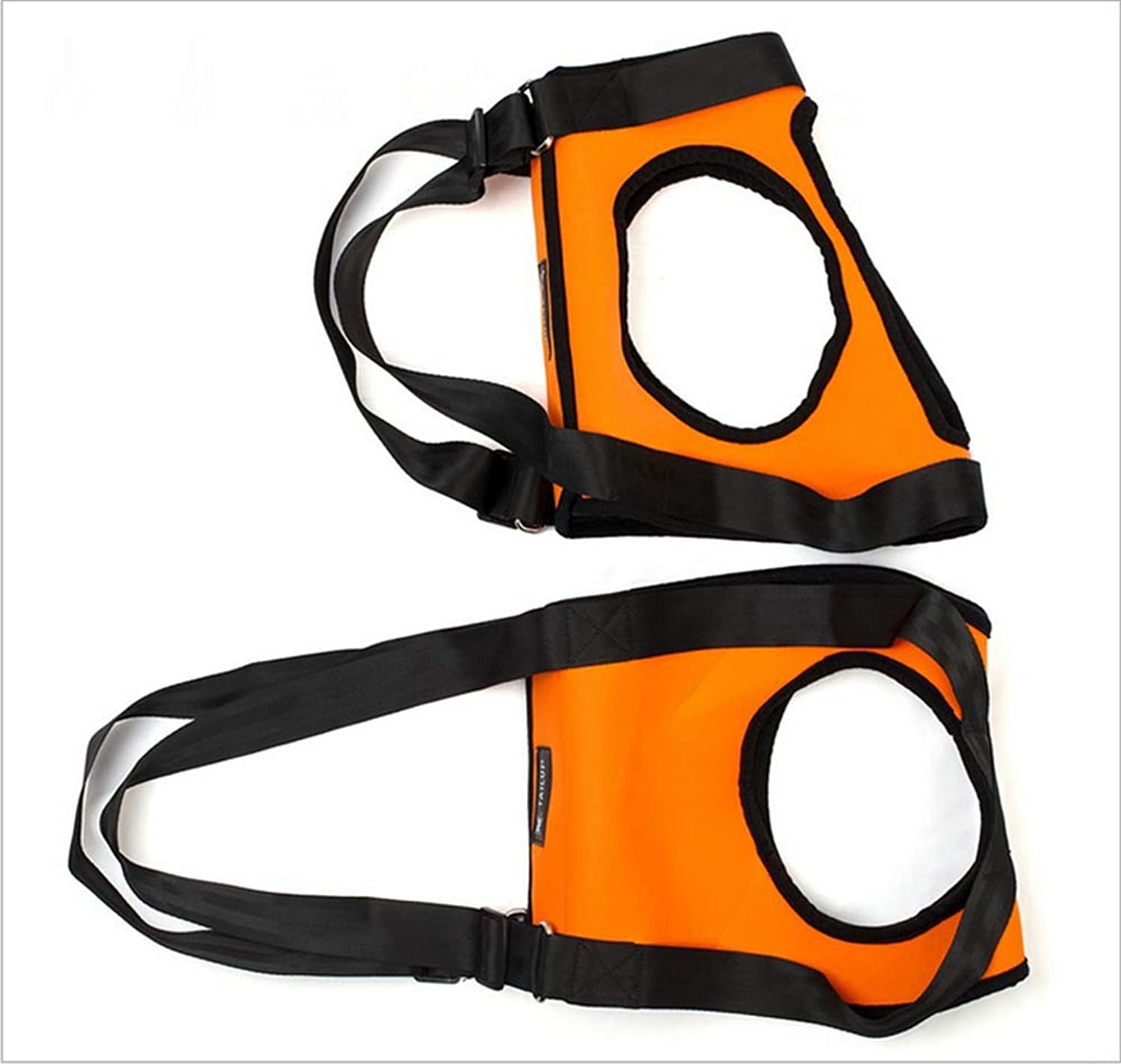 Dog Lift Support Harness,Old Dog Hind Leg Auxiliary Belt Sling with Handle Rehabilitation Basic Collars Harness for Canine Aid for Weak Hind Leg Joints Surgery,orange,S