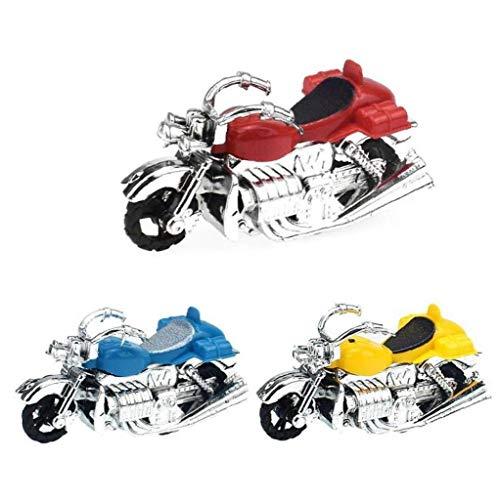 Case Cover 1pc Motorrad-Modell-Kind-Spielzeug-Motorrad Aus Kunststoff Für Kinder Geschenk (gelegentliche Farbe)