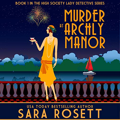Murder at Archly Manor audiobook cover art