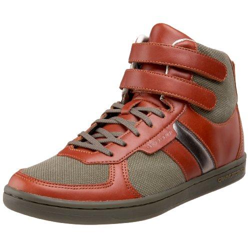 Creative Recreation Men's Dicoco High-Top Sneaker,Military/Canvas/Rust,10 D US