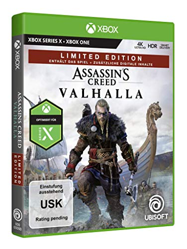 Assassin's Creed Valhalla – Limited Edition (exklusiv bei Amazon) [Xbox One, Xbox Series X]