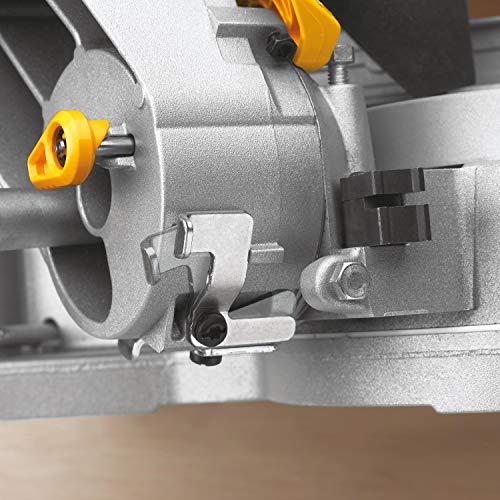 DeWalt Paneelsäge 1675W DWS780 inkl. Zubehör – Mit 305×30 mm HM-Sägeblatt ideal für den Innenausbau – Hohe Schnittkapazität & LED Schnittlinien Anzeige - 5