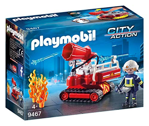 Playmobil - Pompier avec robot d'intervention - 9467