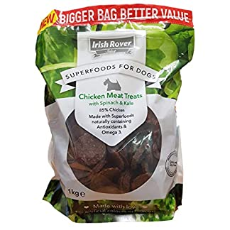 2 X New Select Super Foods for Dogs Chicken Spinach and Kale 1Kg 2