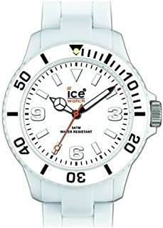 Ice-Watch Unisex CL.WE.U.P.09 Classic Collection White Plastic Watch