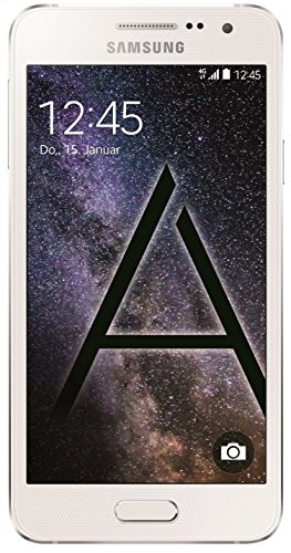Samsung Galaxy A5 Smartphone (5 Zoll (12,7 cm)Touch-Display, 16 GB Speicher, Android 4.4) pearl white