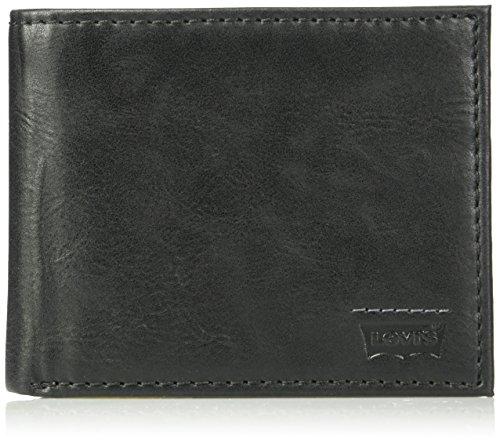 Levi's RFID Securtity Blocking Passcase Accesorio de viaje-Billetera plegable, Negro (, Taille unique para Hombre